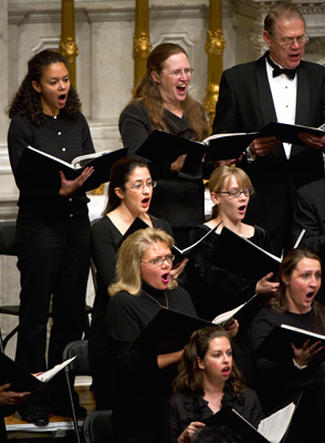 Handel Choir performs Messiah