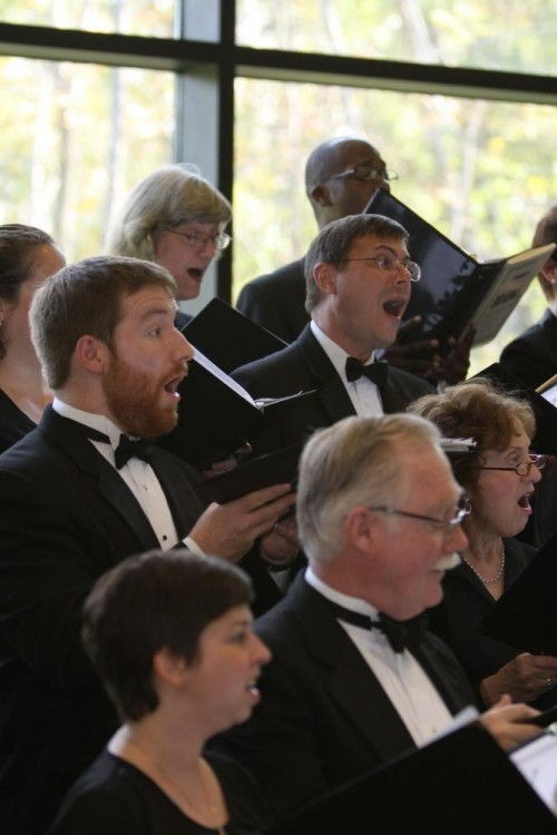 Handel Choir at Cylburn Arboretum October 2012